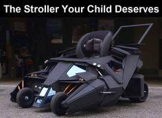 The Stroller Your Child Deserves funny child jokes lol funny quote funny quotes children funny sayings joke humor batman funny pictures funny images