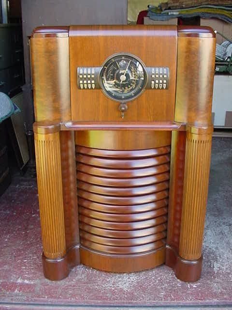 Details About Zenith 12s370 Console Radio Radios