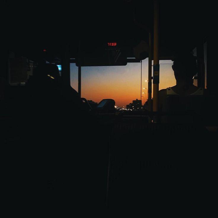 Bus window.  #tlv #telaviv #tlvculture #tlvcity #tlvdaily #sunset #telavivian #telavivcity #telavivstyle #israel #israeli #israel_pics #israel_best #tlv_daily #street #dusk #urban #coexist #urbanphotography #middleeastern #middleeast #urbanism #transport #sky #streetphotography #urbanlife #urbanart #streetstyle #streetview #urbanocity