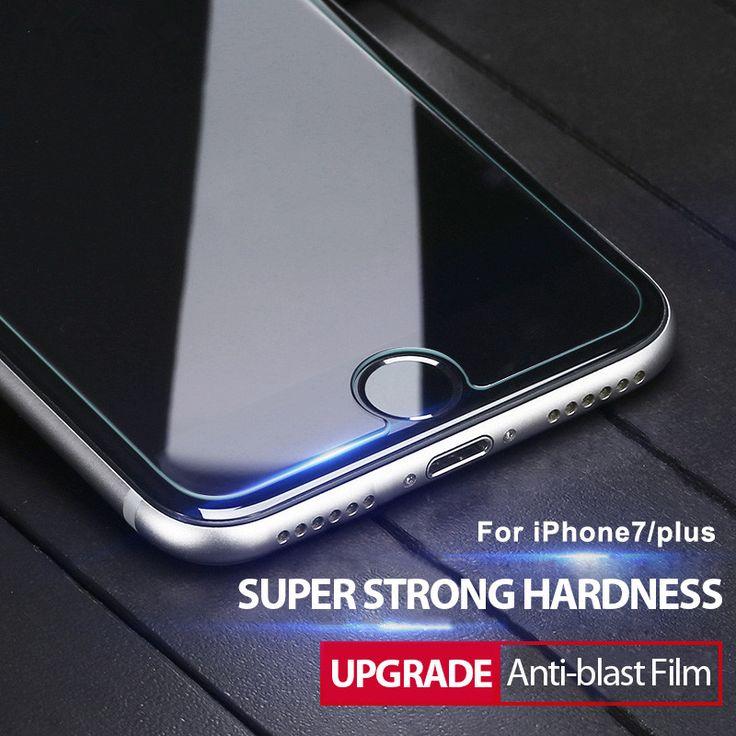 Nano antiblast tempered kaca screen protector pelindung film untuk iphone 7 6 6 s 5 5 s 4 s plus samsung galaxy s4 s5 s6 note 3 4 5