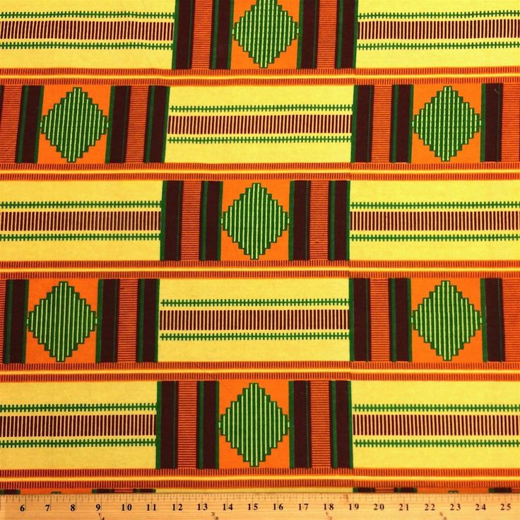 Kente African Print (19001-1)