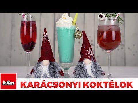 Karácsonyi Koktélötletek (alkoholos ) | Kika Magyarország - YouTube