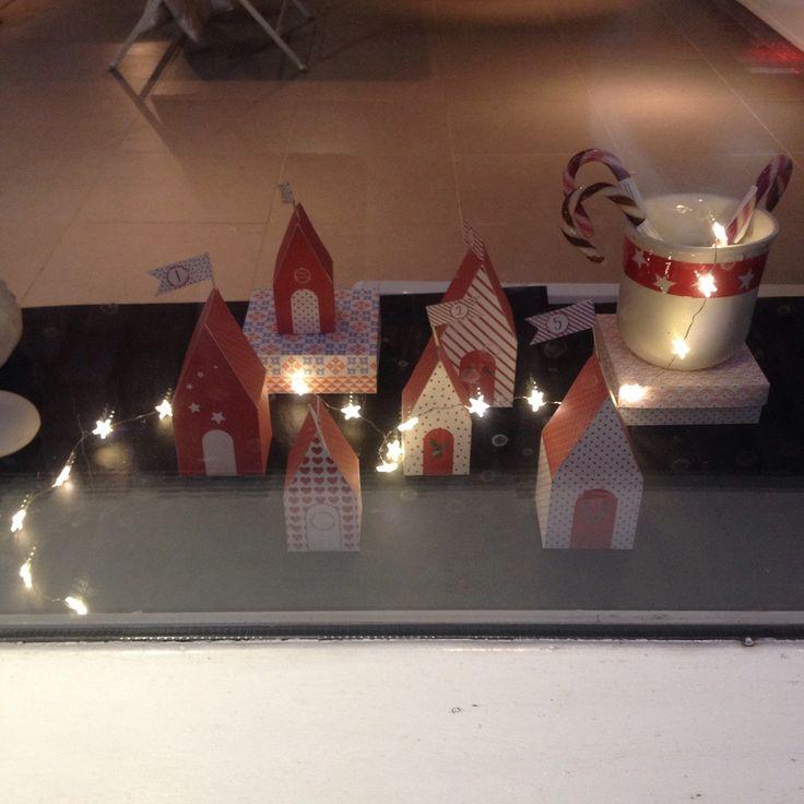 Advent calendar from MimiOshi's Etsy shop