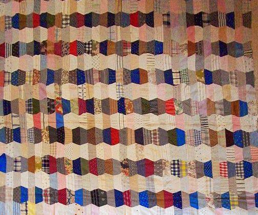 La culture matérielle de Barbara Brackman    Could I use old silk ties?