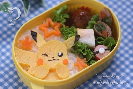 ピカチュの弁当 Pikachu Obento
