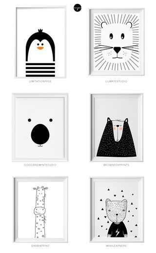 ETSY MIX of the week (for a cool kids room) | My Paradissi | Bloglovin'