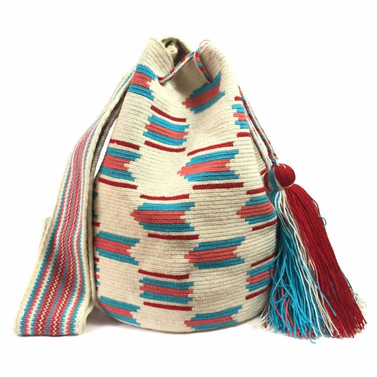Rosario Large single Wayuu Mochila Bag 2