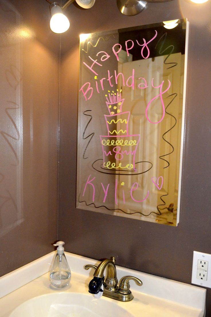 We love this idea for a special birthday celebration. What do you think?