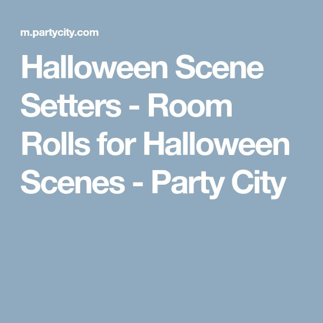 Halloween Scene Setters - Room Rolls for Halloween Scenes - Party City