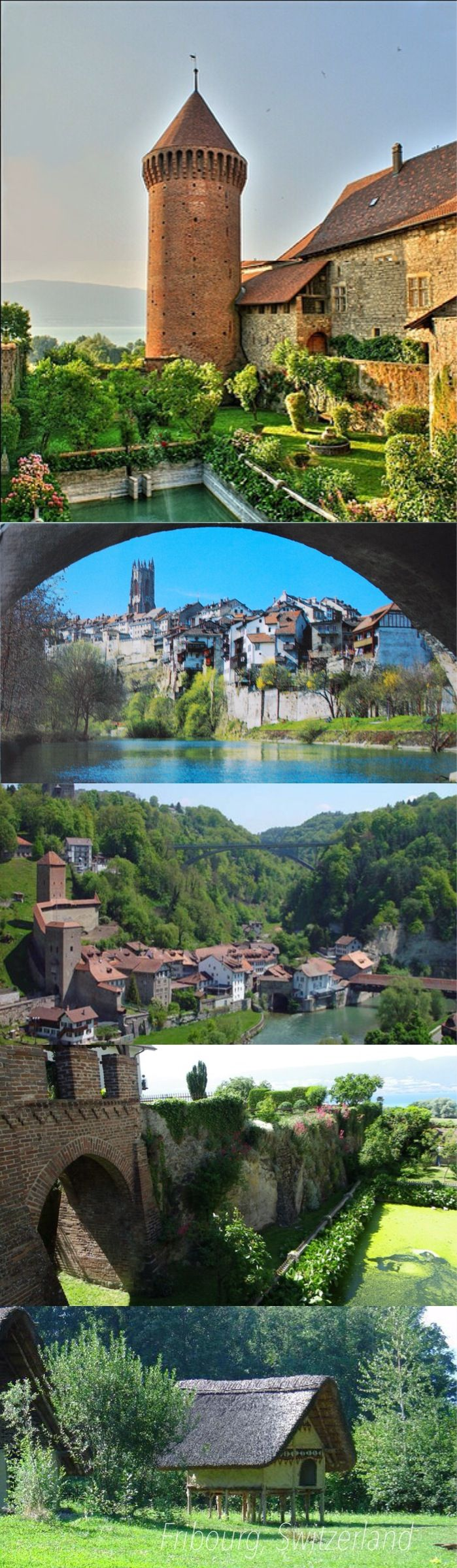Fribourg, Switzerland--the only place in Switzerland with a cidery