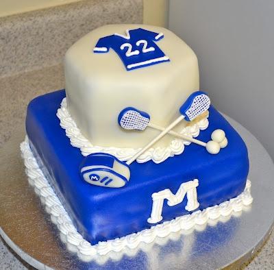 Maclay Lacrosse Cake