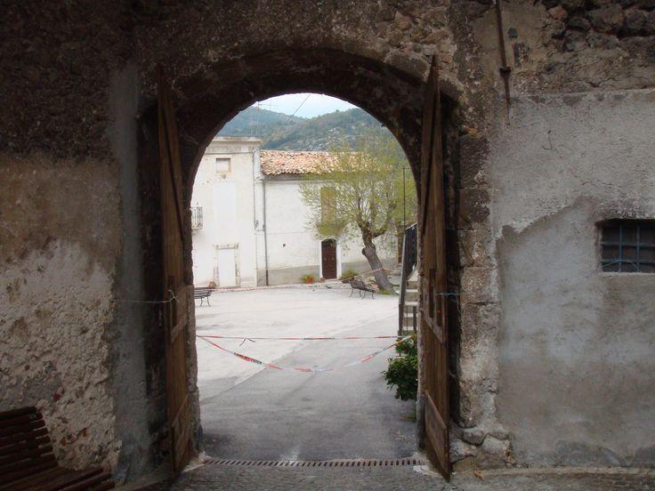 Centro Storico:una porta d'ingresso.