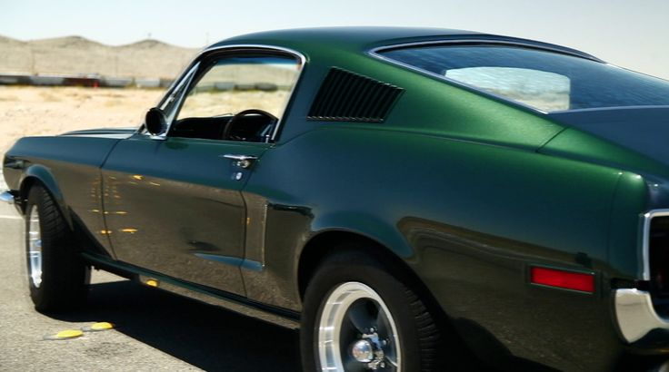McQueen for a Day: 1968 Ford Mustang from the History Channel's Counting Cars.  Read more for parts list for this car.