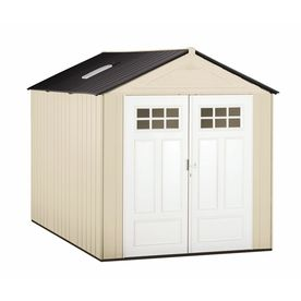 Rubbermaid Gable Storage Shed (Common: 7-ftx 10-ft; Interior Dimensions: 6.75-ftx 10.2 Feet)