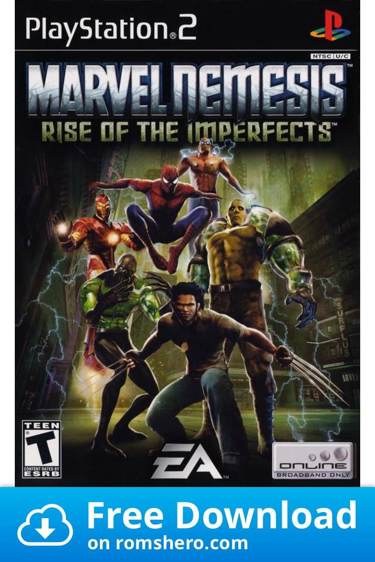 Download Marvel Nemesis Rise Of The Imperfects Playstation 2