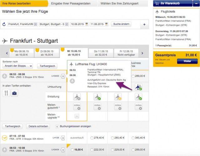 Deutsche Bahn bus tickets