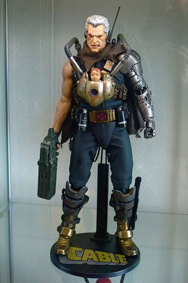 Cool Custom 1/6 Action Figures Feature Cable, X-Men, Batman and More