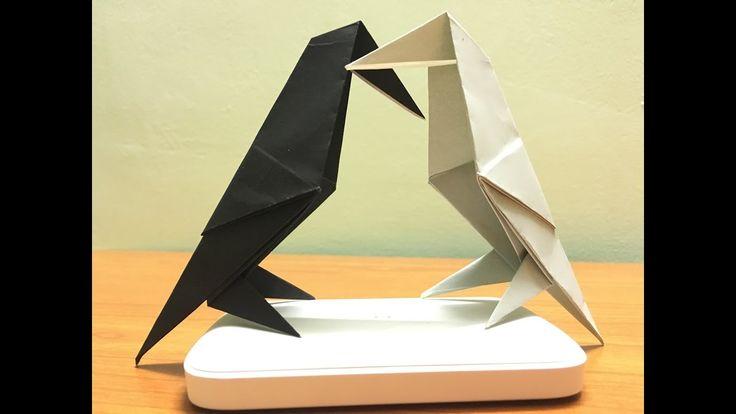 Origami Raven Pair