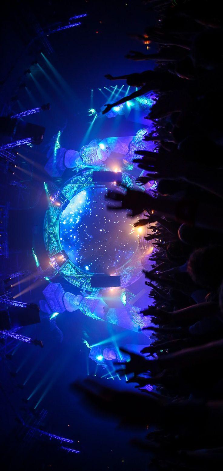 #edm #lights #crowds