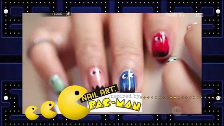 Nail Art - Pac-man - iLook