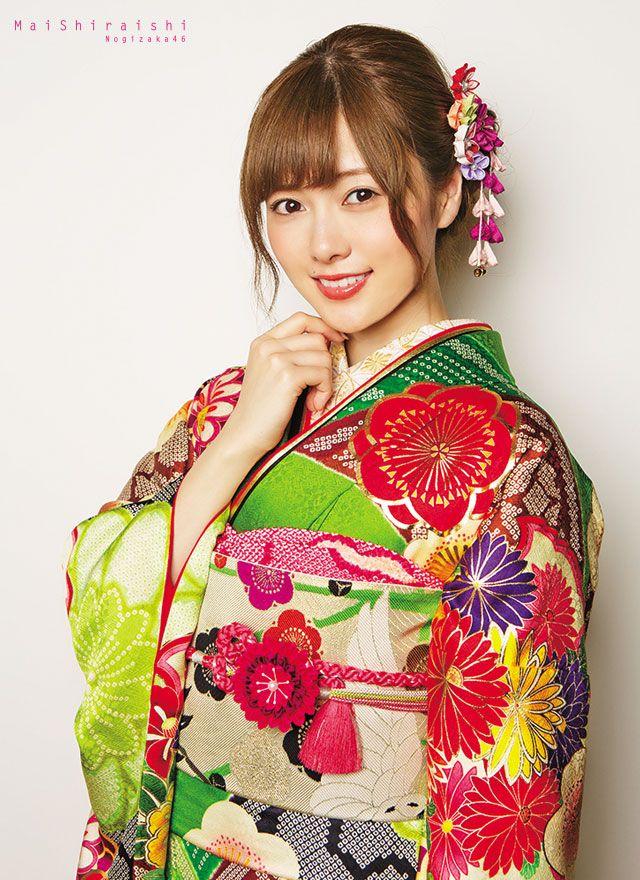 asheron02:  Shiraishi Mai   Nogizaka46 Shiraishi Mai Kimono   Kyoto Sweet Collection   Part 4