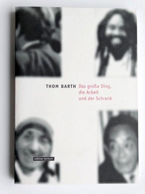 DAS GROSSE DING, DIE ARBEIT UND DER SCHRANK,  Texte: Martin Hentschel, Boris Groys, 152 S