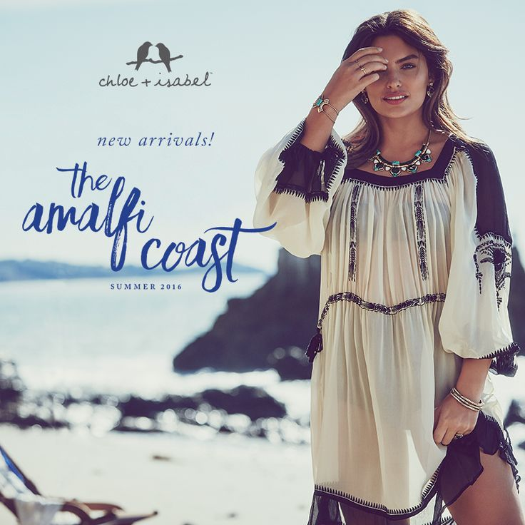 The time has come! Stop by my boutique to discover our Summer 2016 collection, The Amalfi Coast!