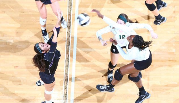 Michigan State Spartans Volleyball 2013