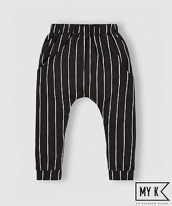 My K Striped Hareem Trousers