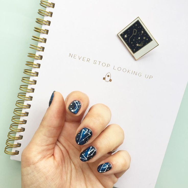 Constellation nails