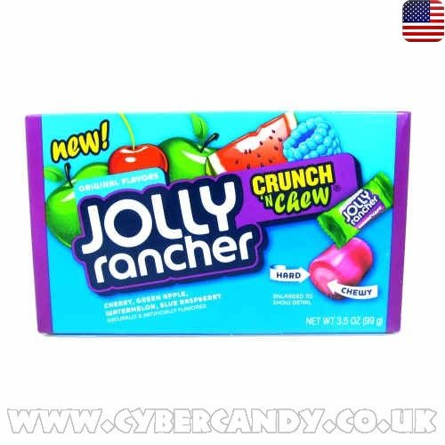 Jolly Rancher Crunch 'n' Chew 99g Box