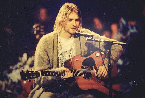 Bild von Kurt Cobain