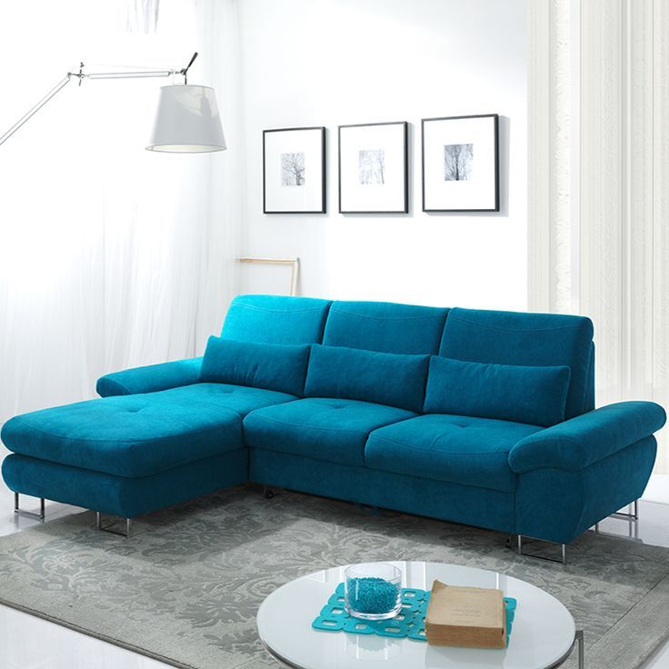 Les 25 meilleures id es de la cat gorie chambre bleu for Deco canape bleu canard