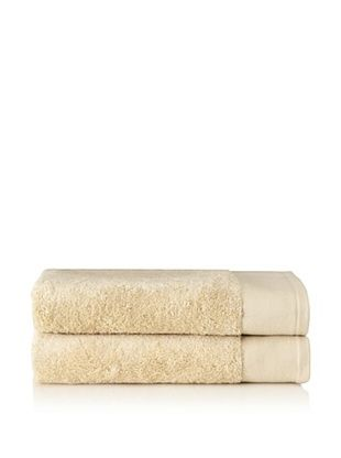 Schlossberg Set of 2 Interio Bath Towels, Ivory