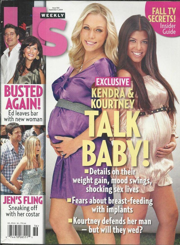 US Weekly magazine Kourtney Kardashian Kendra Wilkinson Jennifer Aniston