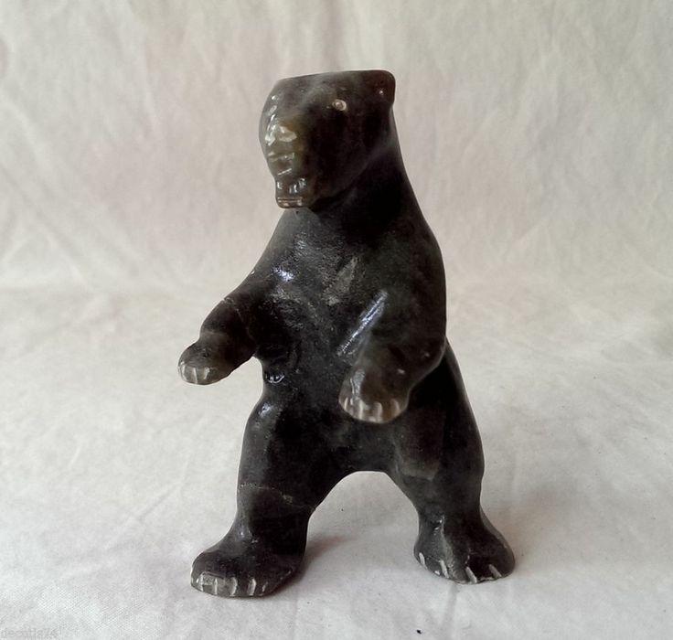 Inuit Eskimo Soapstone Carving Of Walrus Artist Signed: 132 Best VINTAGE ART Images On Pinterest