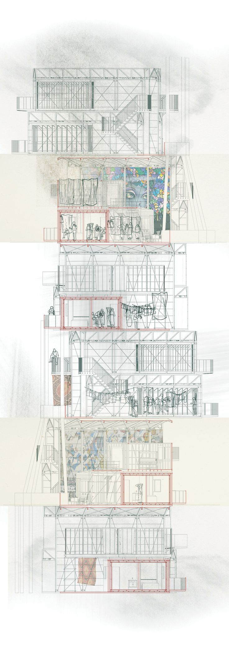 Kevin Woodward, Slum City/Immigration Centre, MArch Architecture, UWE Bristol, http://courses.uwe.ac.uk/K10B1