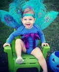 Baby Peacock Costume - 2013 Halloween Costume Contest