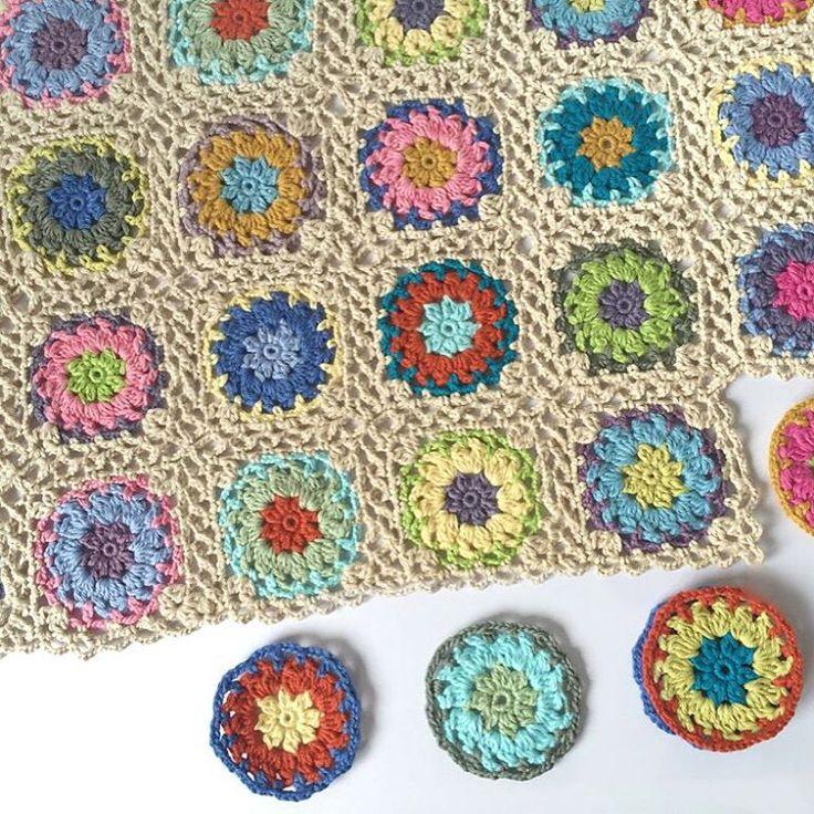 78 besten A Wool crochet Fleckerl Bilder auf Pinterest   Stricken ...