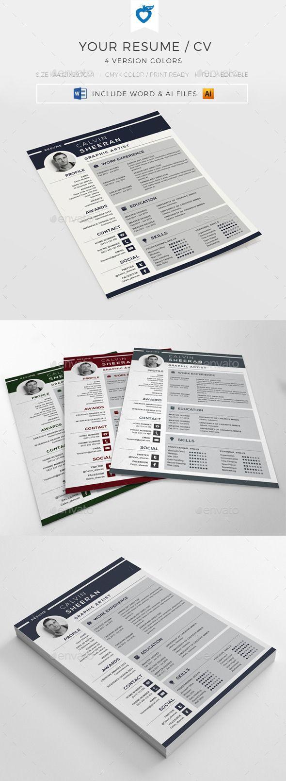 Best 25+ Cv structure ideas on Pinterest | Resume structure, Best ...