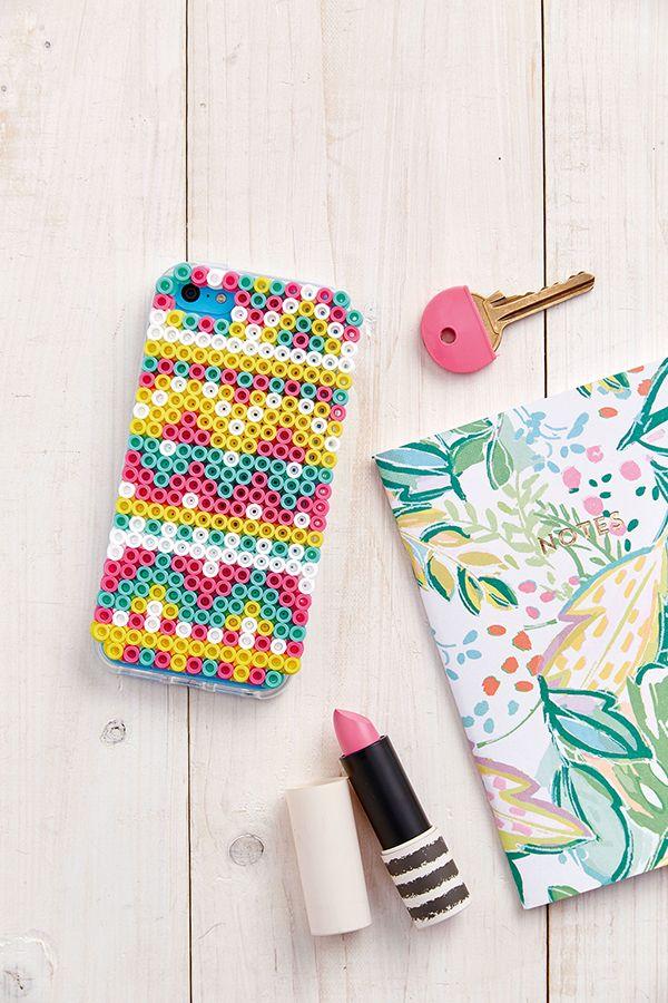 Perler beads phone case idea - Hama beads
