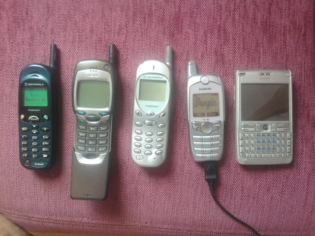 My treasure: Motorola Timeport L7089 - Nokia 7110 - Motorola Timeport 250 - Siemens SL45 - Nokia E61 (Hazinem, isteme sakın)