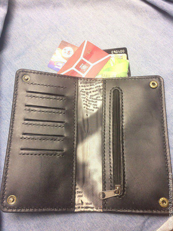 bcec65c9ef23 Кошельки и визитницы ручной работы. портмоне из натуральной кожи. Dima.  Интернет-магазин