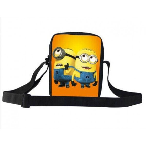 Minions taske til børn i god kvalitet og med plads til en iPad mini