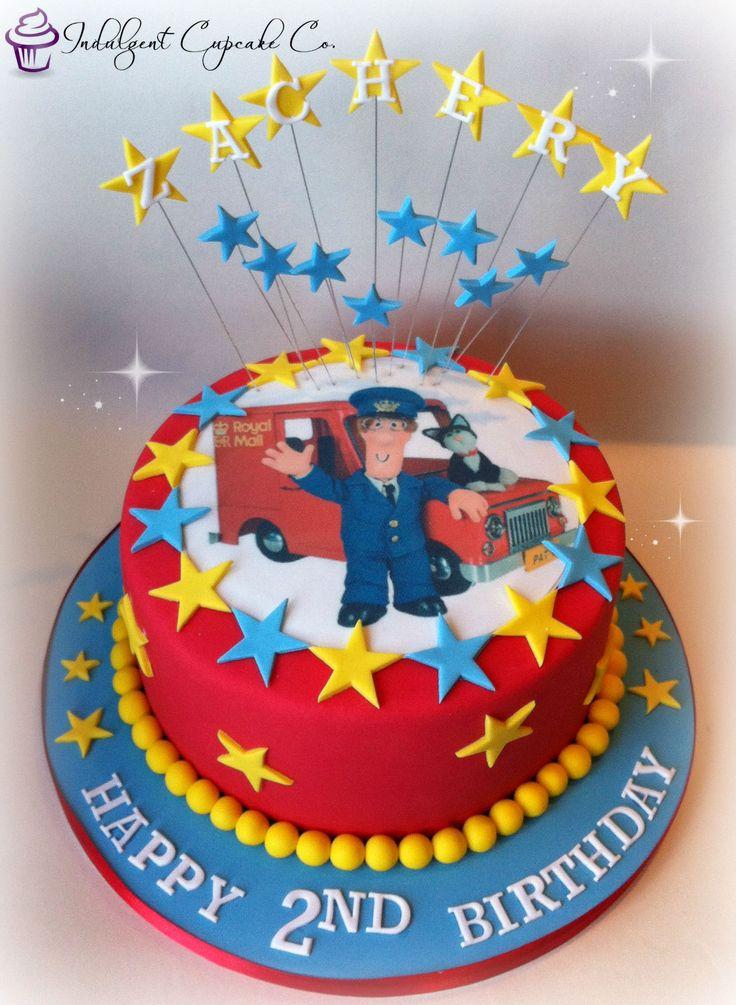 Postman Pat cake........