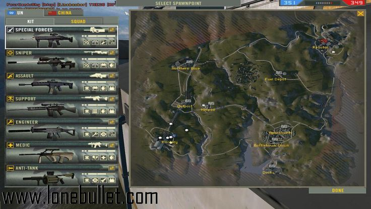Download New Special Forces Weapons mod for the game Battlefield 2. You can get it from LoneBullet - http://www.lonebullet.com/mods/download-new-special-forces-weapons-battlefield-2-mod-free-62040.htm for free. All countries allowed. High speed servers! No waiting time! No surveys! The best gaming download portal!