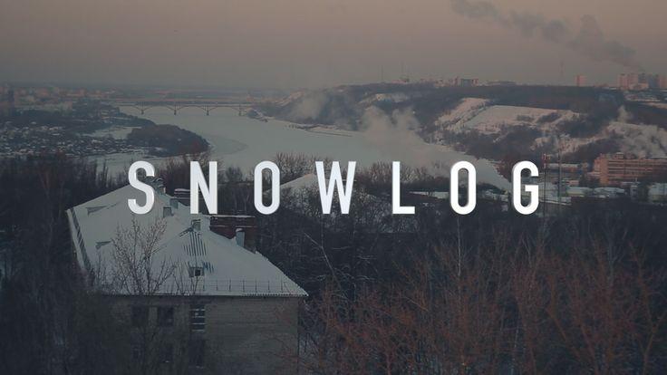 SNOWLOG — My winter blog. Riding in different places of Nizhny Novgorod - YouTube
