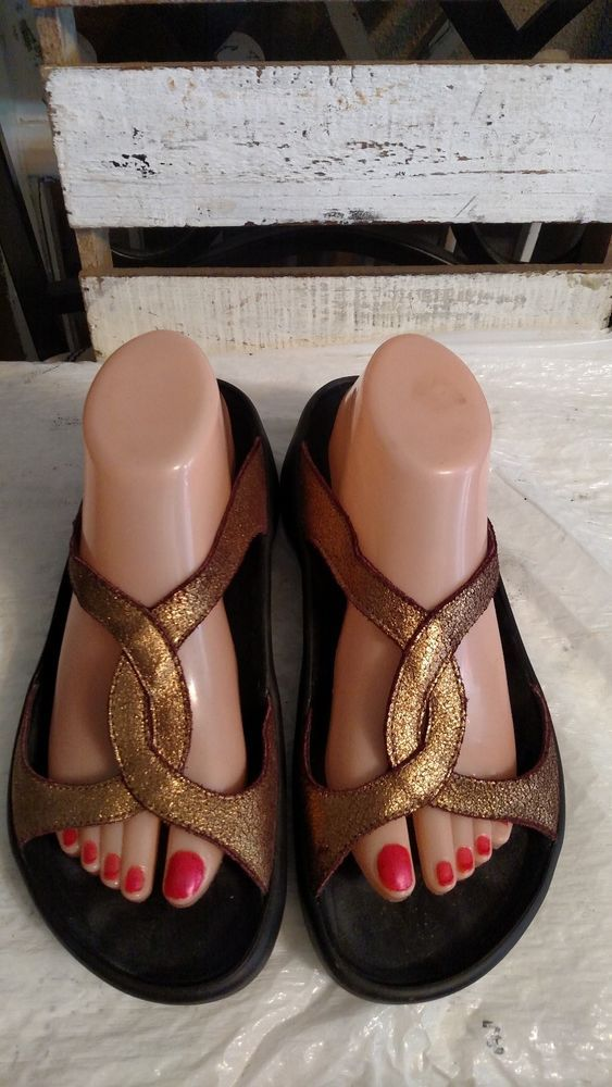 35035e3daaaf Tatami Birkenstock Shimmering Metallic bronze Sandals 41 Womens 10 N   fashion  clothing  shoes  accessories  womensshoes  sandals (ebay link)