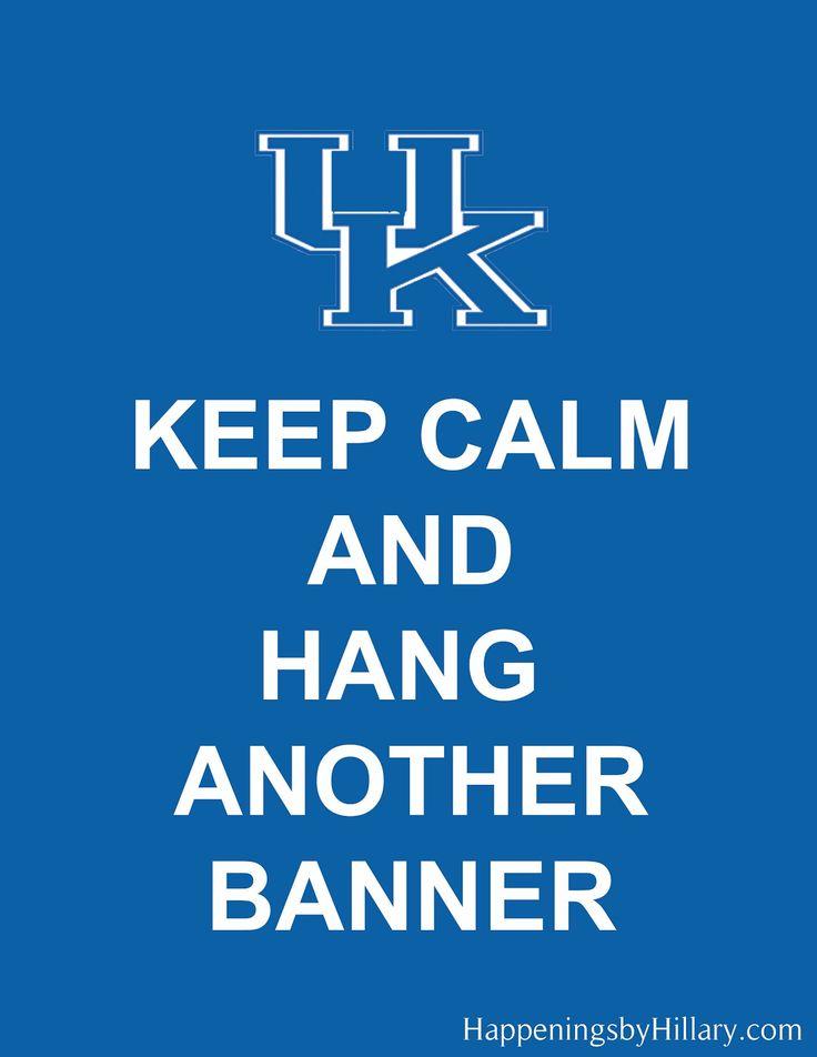 UKBig Blue, Blue National, Kentucky Wildcats Basketball, Sports, Keep Calm, Cat Cat, Uk Basketball, Kentucky Basketball, Uk Wildcats