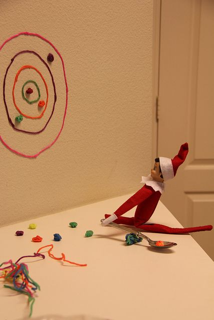 Elf on the Shelf : Target practice I think using a nerf gun would work too